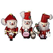 Steinbach Kurt Adler 12-Days of Christmas Ornament, Set of 3