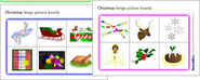 Christmas bingo picture boards (SB521) - SparkleBox