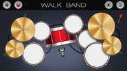 Walk Band: Piano,Guitar,Drum..
