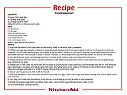 French Lemon Tart Recipe - KitchenAid Malaysia | Facebook