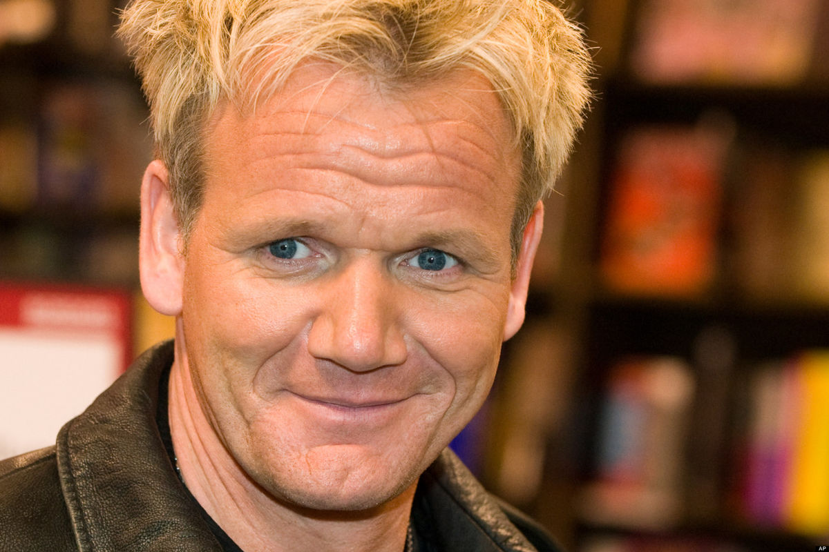 Headline for Celebrity Chef's Festive Cooking Part 1 : Gordon Ramsay