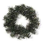 10 12 inch Christmas Holiday Canadian Pine Wreath 40 Tips 12""
