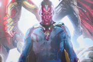 "New ""Age of Ultron"" Promo Art Features ""Avengers'"" Vision - Comic Book Resources"