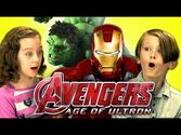 Kids React To Avengers: Age Of Ultron Trailer - Bleeding Cool Comic Book, Movie, TV News