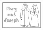 Nativity story colouring sheets (SB6445) - SparkleBox
