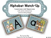 Alphabet Match-Up - Christmas Nativity {FREE}