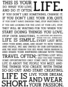 This is your life. Do what you love by @rustyspeidel