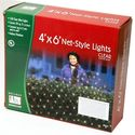 Holiday Wonderland 392019 150-Count Clear Christmas Lights Net-Style Light Set / Tree Wrap 6X4 Feet