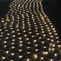 AGPtek® 300 LED Net Mesh Fairy String Light Christmas Lights Lighting Party Wedding Tree-wrap Warm White color