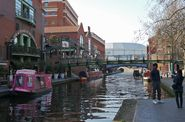 The Canals in Birmingham, not Venice