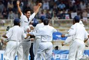 Irfan Pathan is the only bowler to pick up a hat-trick in the first over of a Test match.