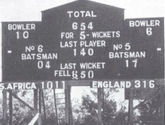 The 1939 Timeless Durban Test was played for 9 days and yet there was no result.
