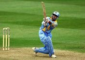 Saurav Ganguly is the only Indian player to score a century in the knock out stages of a World Cup.