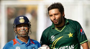 Shahid Afridi used Sachin Tendulkar's bat to hit the fastest ever ODI century
