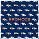 NFL Denver Broncos Sunglass Microfiber Cleaning Cloth