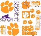NCAA Clemson Tigers Wall Stickers