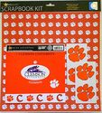 Sports Solution Clemson Tigers Scrapbook Page Kit