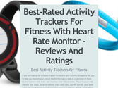Best-Rated Activity Trackers For Fitness With Heart Rate Monitor - Reviews And Ratings