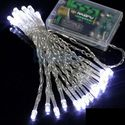 E-MART 3.5M 30 LED Battery Operated Christmas Wedding Fairy String Lights,white - US SHIPPING