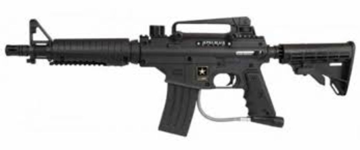 Headline for Best Fully Automatic Tippmann Paintball Guns 2017