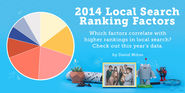 Local Search Ranking Factors 2014 - Moz