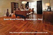 Important step of the solid wood flooring installation