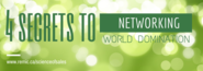 4 Secrets to NETWORKING World Domination - The REMIC Blog - Weekly News + Tips