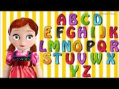 ABC song by Frozen Anna-ABC Song-Alphabets for Children, abc songs for kindergarten