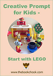 Creative Prompt for Kids - Start with LEGO