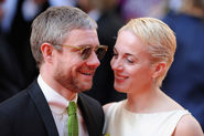His relationship with Amanda Abbington makes us believe in fairytales