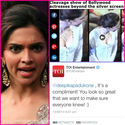 Deepika Padukone Cleavage Controversy