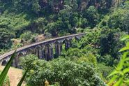 Demodara Nine Arch Bridge and Railway Loop