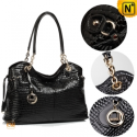 Women's Black Leather Hobo Handbags CW209010 – cwmalls.com