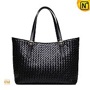 Cwmalls Womens Shopper Totes Leather Handbag CW255166