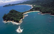 Manuel Antonio National Park is, indeed a National Park... Not a public beach.