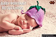 Baby Portrait Retouching – Editing New Born Baby Photos in Photoshop