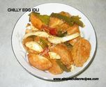 Chilli Egg Idli