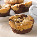 Cookie Brownie Cups