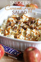 Snickers Caramel Apple Salad | Chef in Training