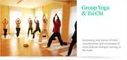 Yoga and Tai Chi Classes