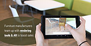 Furniture Manufacturers Team Up With Rendering Tools & AR to Boost Sales