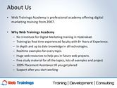 web marketing academy in hyderabad