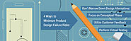 4 Ways to Minimize Product Design Failure Risks