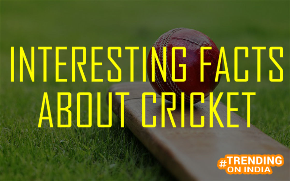 Headline for INTERESTING FACTS ABOUT CRICKET