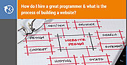 I have the idea but I don't know coding, how to hire a great programmer & how to build a website?