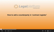 Contract management with SharePoint