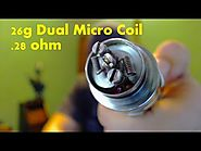 How to build a Micro Coil 26 Gauge - Tutorial