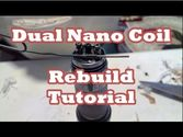 0.35ohm DUAL NANO COIL BUILD!!!!!!! Tutorial