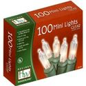 Christmas Lights Sale - Holiday Wonderland 100-Count Clear Christmas Light Set