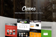 Curves Multipurpose WordPress Theme